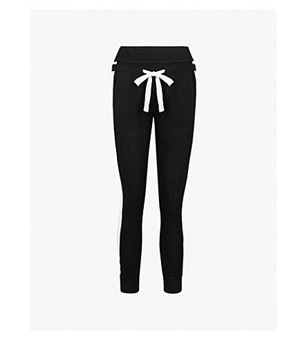 THE KOOPLES Side-stripe fleece jogging bottoms (Bla01