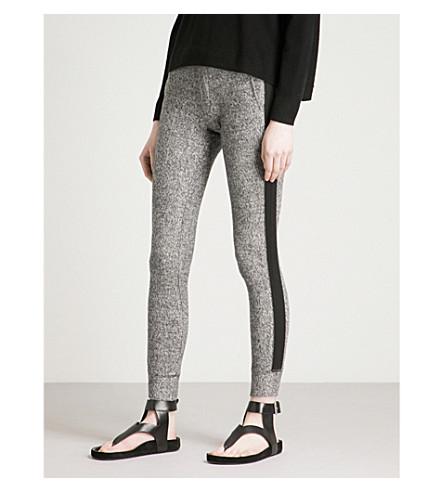 THE KOOPLES Side-stripe fleece jogging bottoms (Gri09