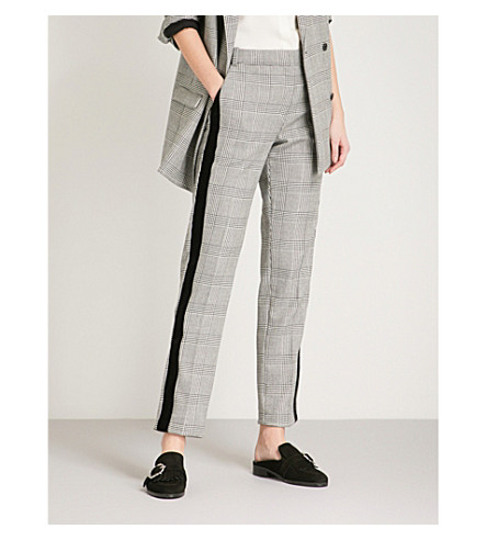 THE KOOPLES Checked woven trousers (Bla06