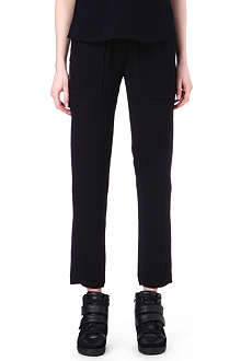 THE KOOPLES SPORT Crepe trousers
