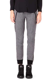 THE KOOPLES SPORT Side-stripe jogging bottoms