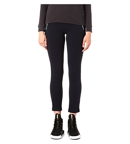 THE KOOPLES SPORT Yoga zip-pocket jogging bottoms (Dark+navy
