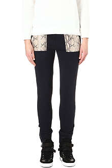 THE KOOPLES SPORT Snake-detail jogging bottoms