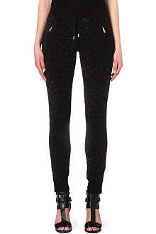 THE KOOPLES SPORT Leopard-print jogging bottoms