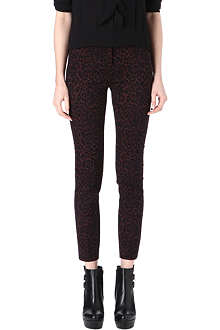 THE KOOPLES Leopard-print jacquard trousers
