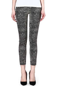 THE KOOPLES Crocodile jacquard trousers