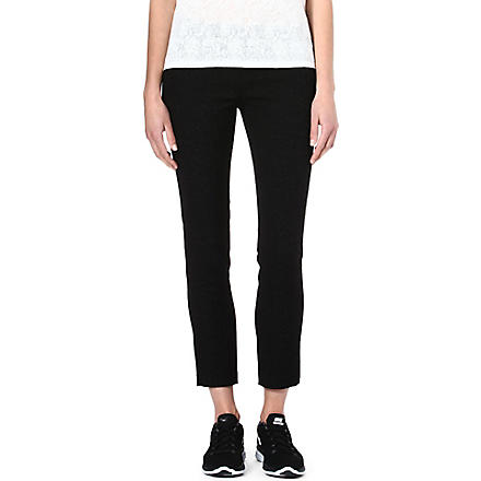 THE KOOPLES SPORT Floral jacquard trousers (Black