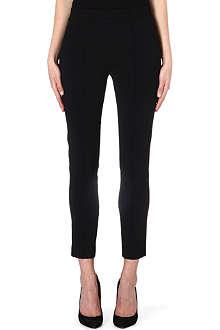 THE KOOPLES Satin-detail crepe trousers