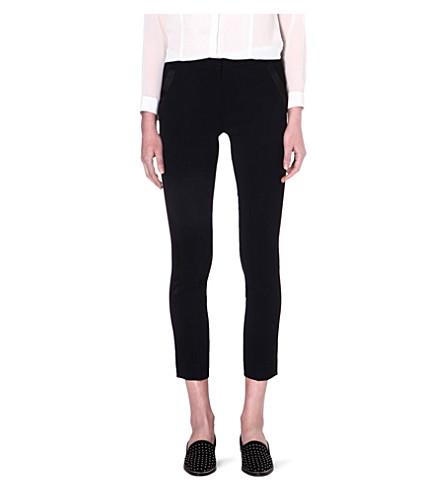 THE KOOPLES Crepe dinner trousers (Black