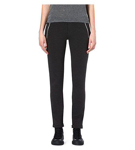 THE KOOPLES SPORT Zip-pocket jogging bottoms (Black / white