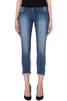 THE KOOPLES Cropped washed skinny jeans