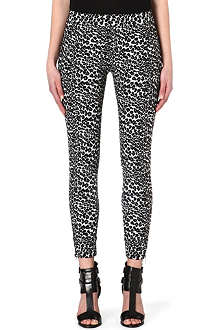 THE KOOPLES SPORT Leopard jacquard trousers