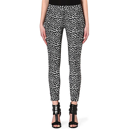 THE KOOPLES SPORT Leopard jacquard trousers (Leopard