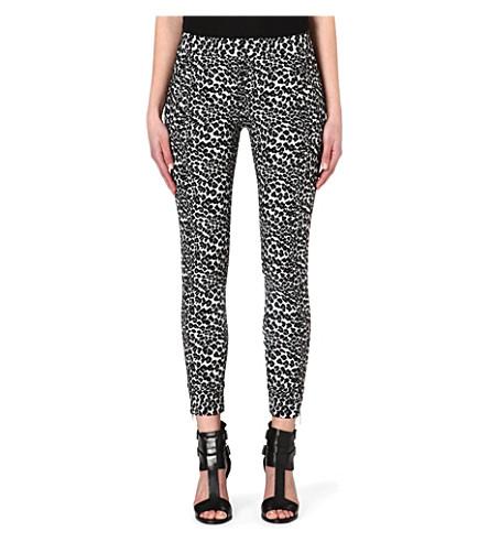 THE KOOPLES SPORT Leopard jacquard trousers (Leopard