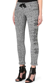 THE KOOPLES SPORT Slogan-print jogging bottoms