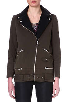 THE KOOPLES Contrast lapel parka
