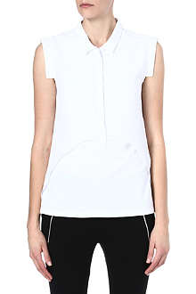THE KOOPLES SPORT Two-fabric polo shirt