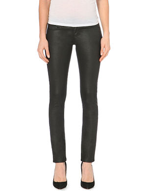 THE KOOPLES Leather-look skinny jeans