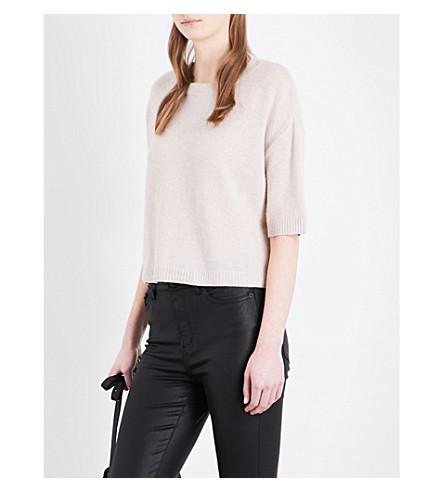 THE KOOPLES Short-sleeved cashmere jumper (Pin86