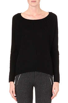 THE KOOPLES SPORT Lurex-detail knitted jumper