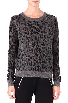 THE KOOPLES SPORT Leopard-print jumper