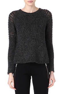 THE KOOPLES SPORT Fantasy knitted jumper