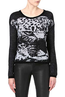 THE KOOPLES Animal merino jumper