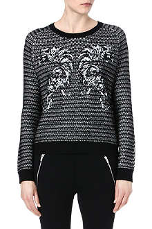 THE KOOPLES SPORT Embroidered Tiger jumper