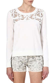 THE KOOPLES Baroque-embroidered merino jumper
