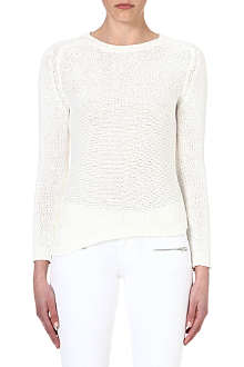 THE KOOPLES SPORT Knitted cotton-blend jumper