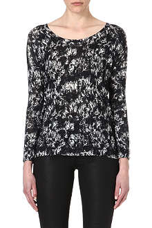 THE KOOPLES Knitted abstract jumper