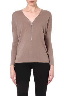 THE KOOPLES SPORT Zip front jumper