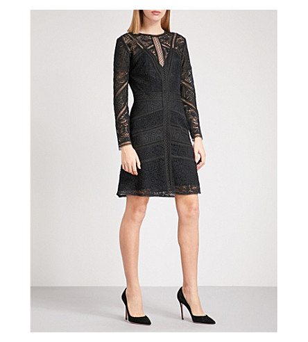 THE KOOPLES Lace dress (Bla01