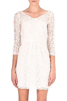 THE KOOPLES Wide-neck lace dress