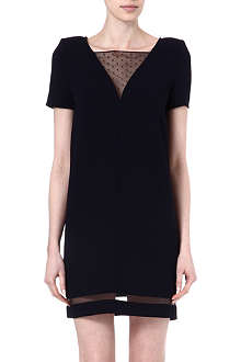 THE KOOPLES Sheer trim dress