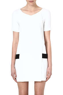 THE KOOPLES Wrap-detail crepe dress