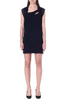 THE KOOPLES Short sleeve crepe dress