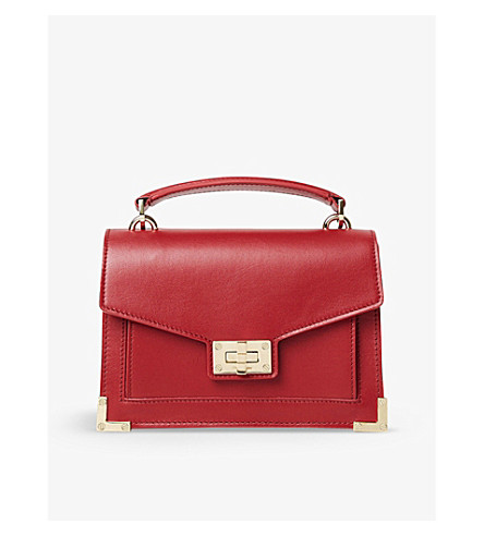THE KOOPLES Emily mini leather cross-body bag (Bur01