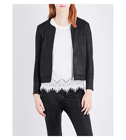 THE KOOPLES Coated bomber jacket (Bla01