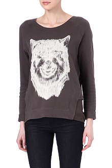 THE KOOPLES SPORT Wolf-print sweatshirt