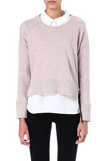 THE KOOPLES SPORT Zip-side jumper