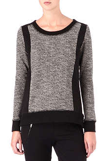 THE KOOPLES SPORT Tweed jumper