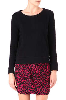 THE KOOPLES Paisley-embossed jumper