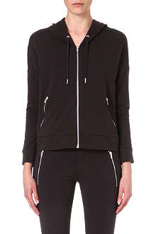 THE KOOPLES SPORT Two-tone cotton hoodie
