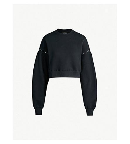 THE KOOPLES 铆钉九分款平纹针织棉卫衣 (Bla01