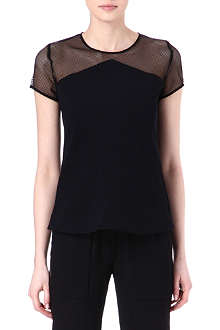 THE KOOPLES SPORT Mesh-insert top