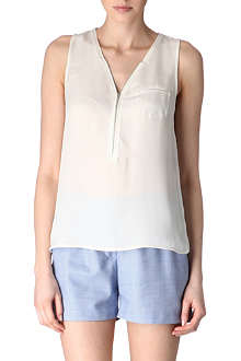 THE KOOPLES Silk zipped vest