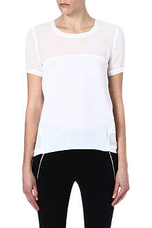 THE KOOPLES SPORT Sheer panel t-shirt