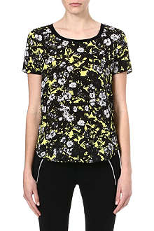 THE KOOPLES SPORT Graphic floral-print t-shirt