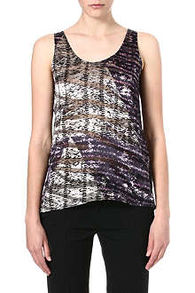 THE KOOPLES Burnout Effect vest top